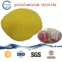 Produto químico da água azul da descoloração do cloreto do Polyaluminium para a maquinaria de matéria têxtil do código do HS