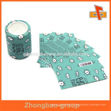 High quanlity printable plastic bottle body label for powder products