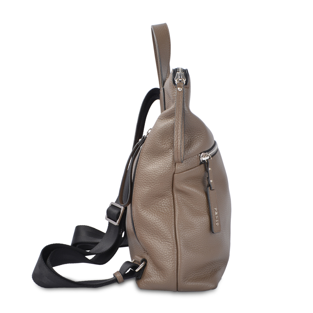 Fashional Teenage High Quality Leather Backpack Women