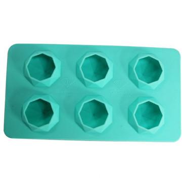 Diamond Shape Silicone Ice Mold with FDA Standard