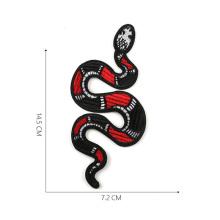 Big Snake Toy Stickerei DIY Patches Kleidung Applique
