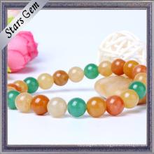 Красочные природные каменные бусы браслет Мода ювелирные изделия