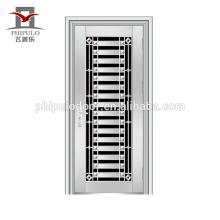 Porta de aço inoxidável residencial profissional do preço do projeto da porta do aço inoxidável