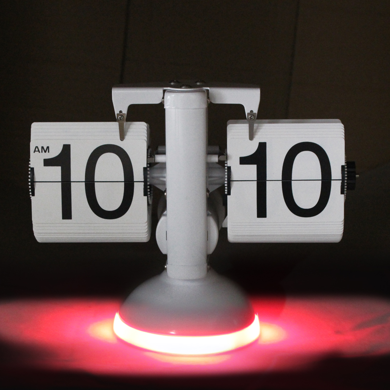 Led nightlight clock