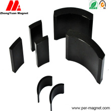 Bnp-12 Arc NdFeB Bonded Magnet with Black Coated
