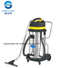 Aspirador húmedo y seco de acero inoxidable 80L con inclinación