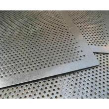 Malha perfurada pesada do metal com o furo redondo feito em China