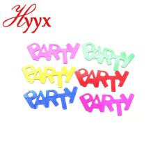 HYYX Customized Style personalisierte biologisch abbaubare Seidenpapier bunten Konfetti