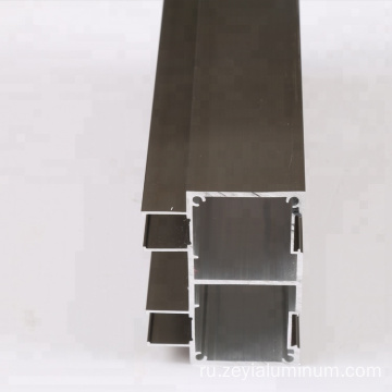 Aluminum rails profile for sliding doors profile