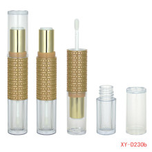 Delicate Double Head Lipstick and Lip Gloss Tube