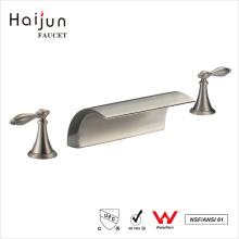 Haijun 2017 China Factory Faucet de cachoeira termostática de 3 vias de mão dupla