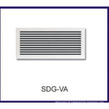 ar condicionado alumínio linear bar difusor de ar grade
