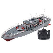 Alta potencia 1: 115 Scale RC Fishing Ship Simulation Guided Torpedo Boat Model