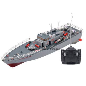 Haute puissance 1: 115 modèle de bateau de torpille guidée par simulation de bateau de pêche de RC