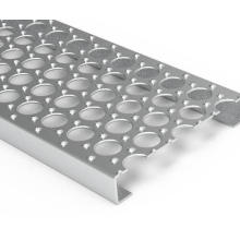 Perforated Safety Grating Plank O Grip Steel Bar Grating for Stair Tread