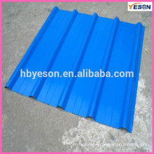 Hard steel Roof Tile / steel top roof sheet / blue steel top roof