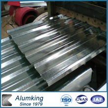 Matériau de construction Feuille d'aluminium ondulé