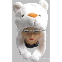Nuevo sombrero del animal de la felpa del diseño 2013 para los niños