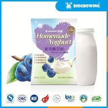 blueberry taste bulgaricus yogurt smoothie