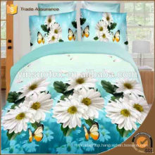 Customized 100%Polyester Disperse Fabric For Home Textile/ 3d Bedding Set
