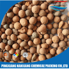 3,6,10,13,19,25,38,50mm ceramic clay balls for waste water treatment