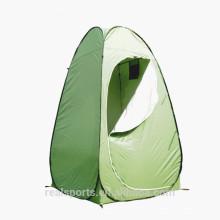 Barraca de acampamento portátil segura segura do toalete da cor bonita