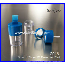 2014 nuevo producto caja de polvo suelto envase de sombra suelta envase de cosméticos envase suelto con espejo