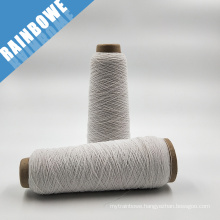 the cheapest latex white rubber covered spandex yarn for socks & gloves in stock