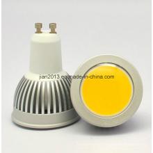 GU10 3W COB Epistar Luz LED Spot