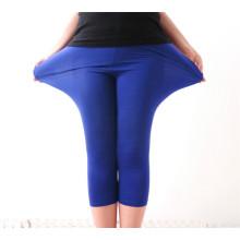 Women Plus Size Xxxl Candy Color High Elestic Modal Legging