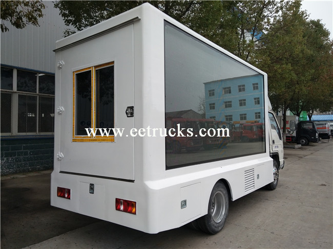 P10 LED Advertising Vehicles