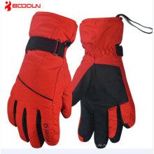 Professionelle hochwertige Outdoor Sports Black Mens Snowboard Handschuhe