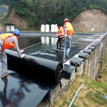 Virgin HDPE Geomembrane Liner para piscicultura artificial