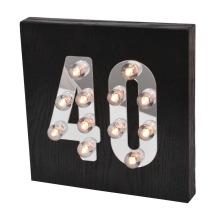 Lumière LED décorative pour suspendre le mur