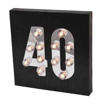 LED decorativo para colgar en la pared