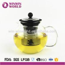 Hot Product Heat Resistant Borosilicate Glass Teapot