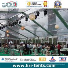 Tente transparente de bonne qualité 9X18m pour l'événement extérieur