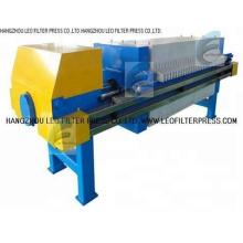 Kammer-Einbauplatten-Filterpresse, vertiefte Plattenkammer-Filterpresse von der Leo-Filter-Presse