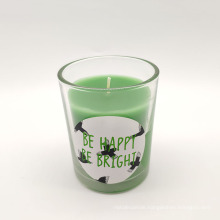 Cheap Oem Packaging Boxes color Wedding Candle Glass Candle