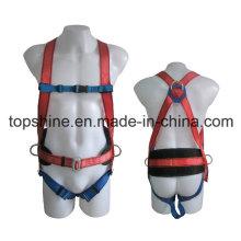 Промышленный полиэстер Регулируемый качественный профессиональный ремни безопасности для всего тела