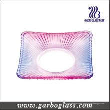 Plaque de verre à quadrate (GB1707H-3 / TS)