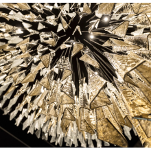 Large crystal chandelier for interior decoration