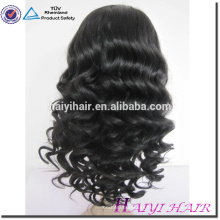 precio al por mayor nudos blanqueados suizo completo 10A grado virgen pelucas brasileñas del pelo para las mujeres negras