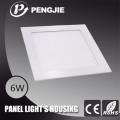 ADC12 Aluminum Slim LED Panel Light Housing for Home
