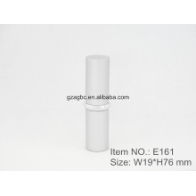 Retro&Special Aluminum Cylindrical Lipstick Tube Container E161, cup size12.1/12.7,Custom color