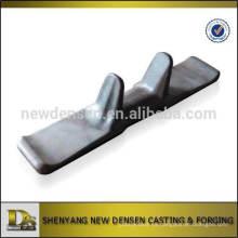 OEM de fabricación de China núcleo de hierro forjado de caucho pistas