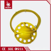 Nuevo acero inoxidable con la rueda de la PC Tipo Bloqueo de la cerradura del cable (BD-L32)