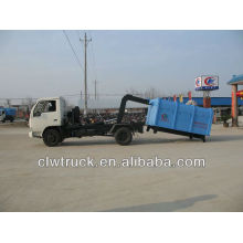 DFAC roll off basura camión de basura, 4 m3 camión de basura