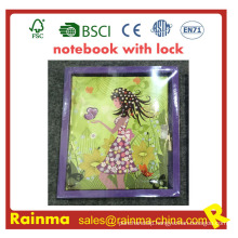 Notebook with Lock for Kids Stationery Gift