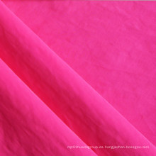 420d tela de nylon de arrugas de sarga con PVC
